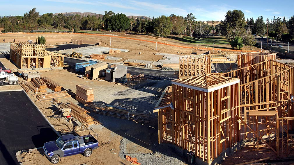 Jamboree's Birch Hills in Brea an affordable garden style community under construction.