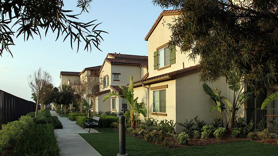 Jamboree's Bonterra affordable family community Brea within Blackstone