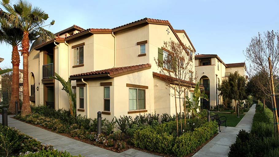 Jamboree's Bonterra affordable housing family community Brea, CA