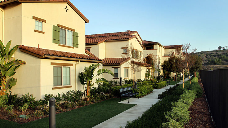 Jamboree's affordable community Bonterra in Brea part of master planned development.