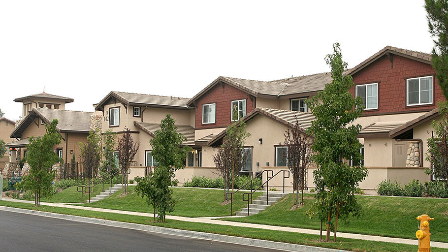 Jamboree's Ceres Court Fontana, CA affordable housing buildings
