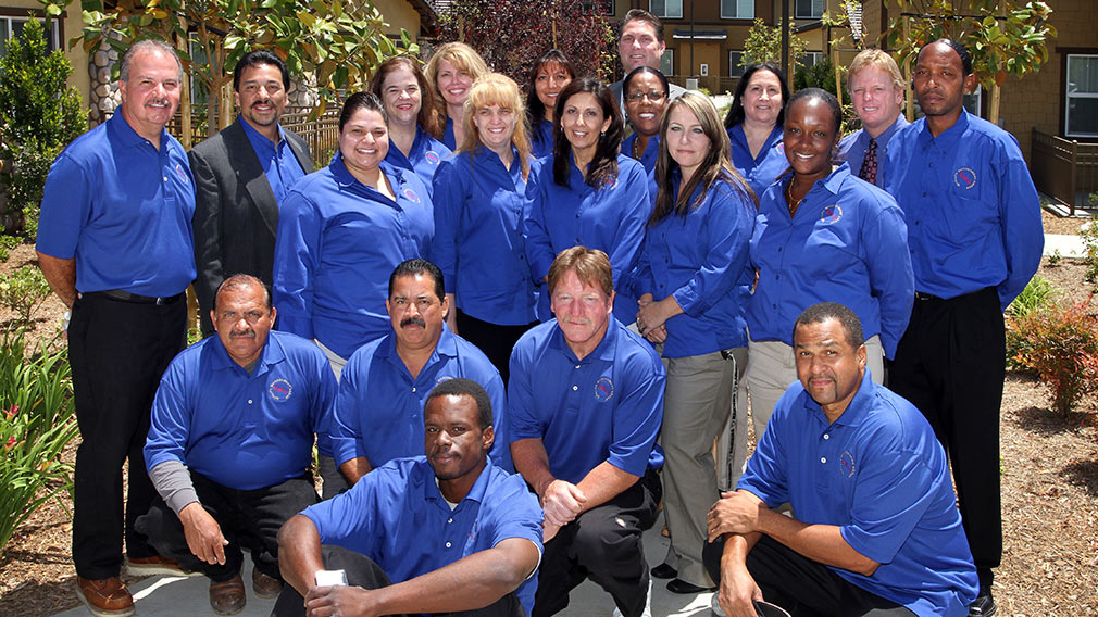 Quality Management Group photo at Jamboree's Ceres Way grand opening, Fontana CA.