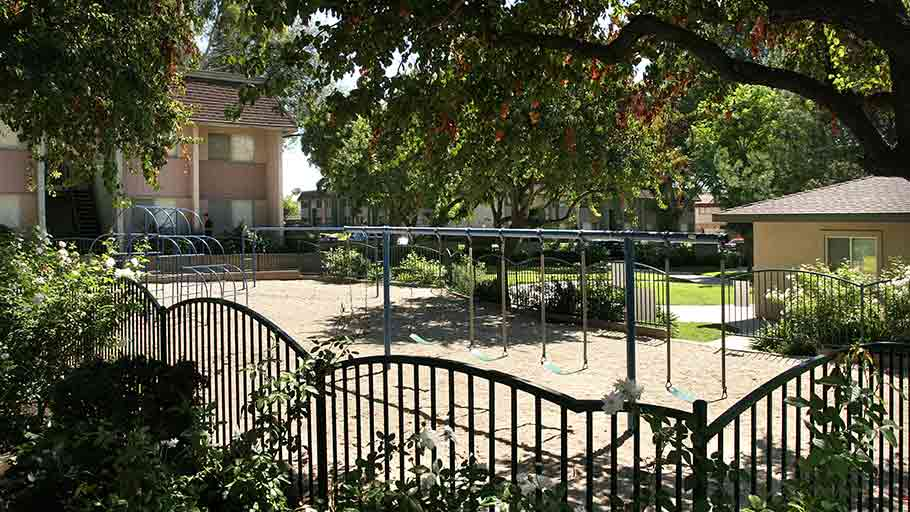 Jamboree's Cienega Gardens in Covina, CA affordable housing tot lot