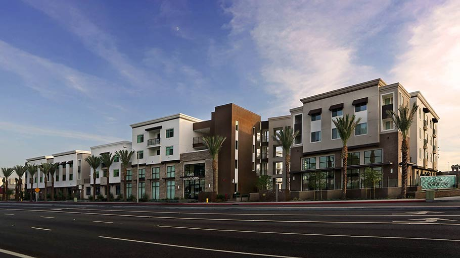 Jamboree's Clark Commons affordable housing for families in Buena Park