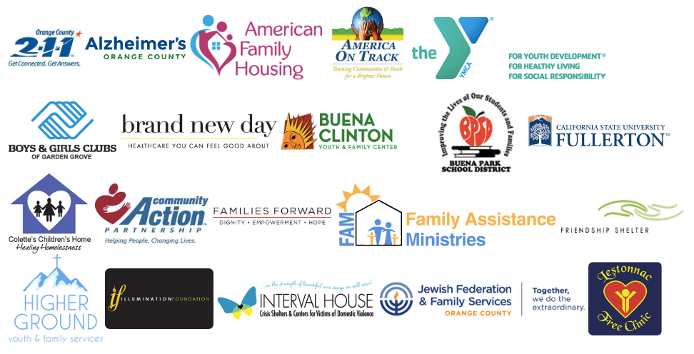 Community Service Partner Logos from Community Organizations
