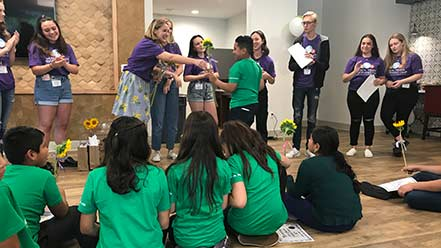 Children from Compass Rose enjoy theater camp at CSUF