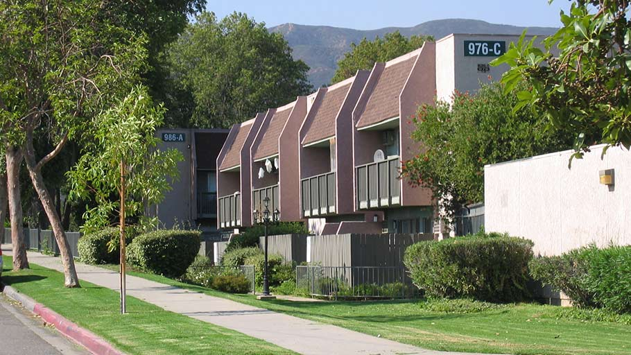 Jamboree's Corona Park affordable family apartments in Corona, CA