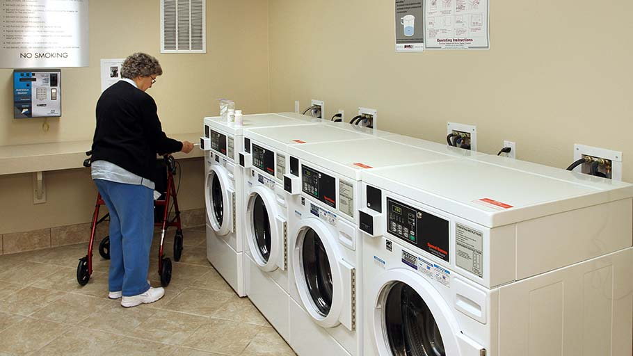 Jamboree's Courier Place community in Claremont laundry facility