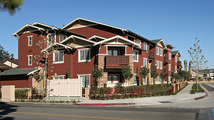 Jamboree permanent supportive housing Diamond in Anaheim, CA.