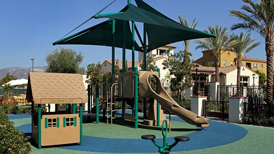 Jamboree's Doria in Irvine, CA affordable special needs community tot lot