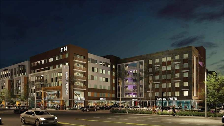 Jamboree's First Point rendering, new affordable housing in Santa Ana