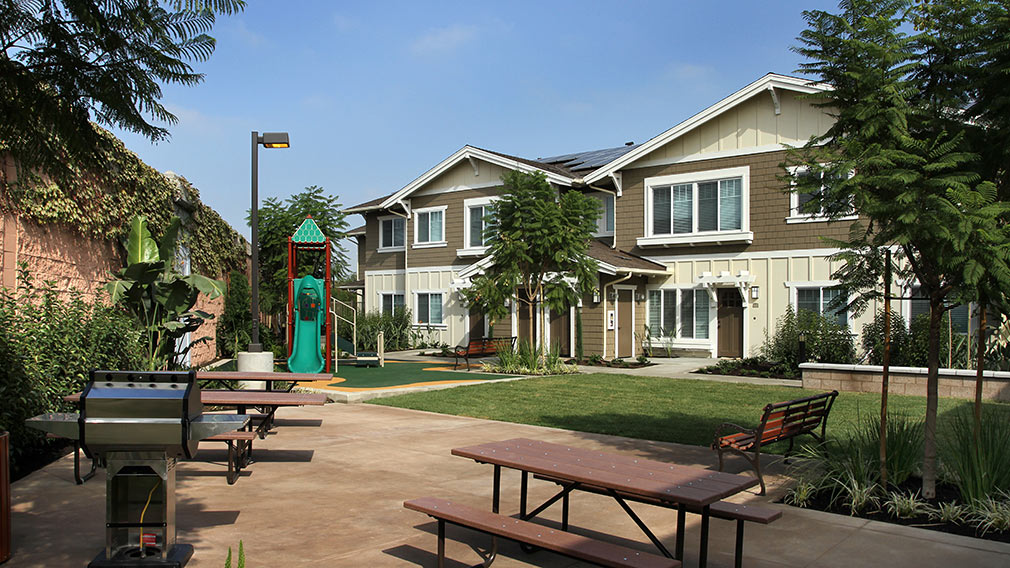 Jamboree's Greenleaf affordable community tot lot in Huntington Beach.