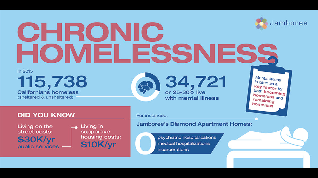 An informative graphic on chronic homelessness.
