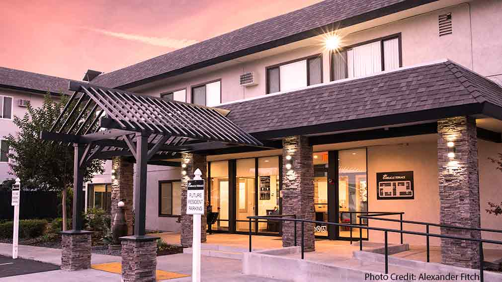 Jamboree and WNC's, CPP renovated senior affordable community, Anaheim