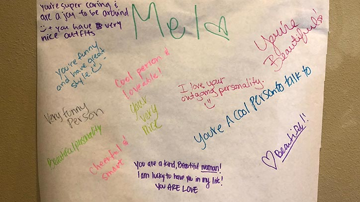 Jamboree's Monarch Point resident's create compliment boards
