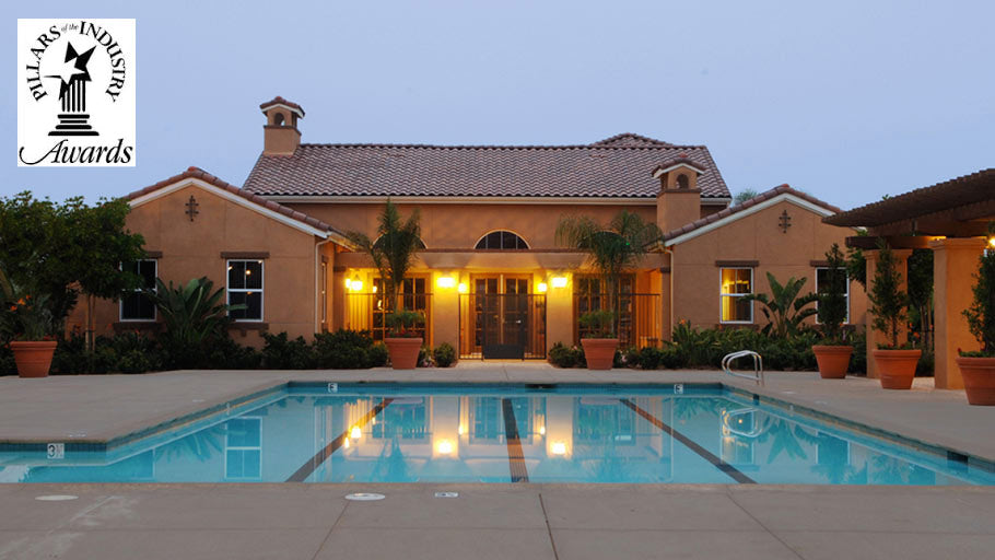 Jamboree's Montecito Vista in Irvine, CA affordable community pool daytime