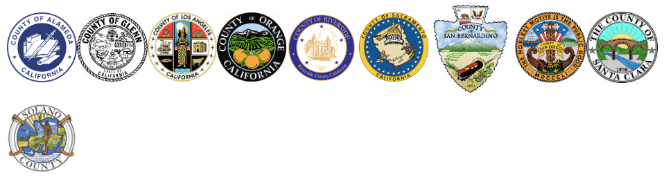 Municipal Partner Logos for Counties