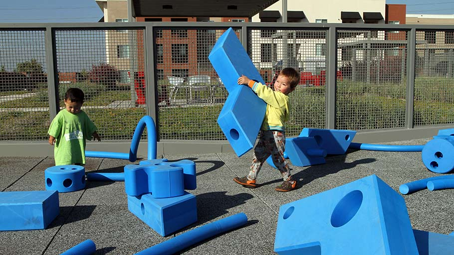 Jamboree's ParkLanding BuenaPark residents kids imagination playground