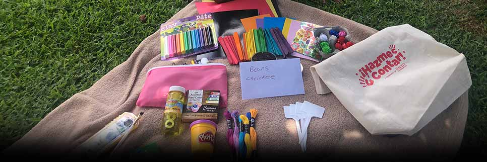 Donate activity kits to Jamboree resident students Summer Learning Drive