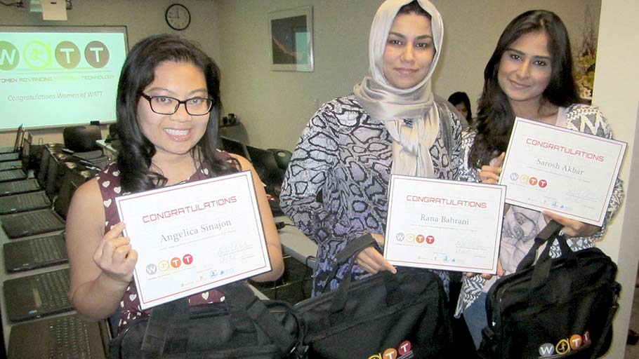 Jamboree residents graduate from OC STEM AutoCAD training.