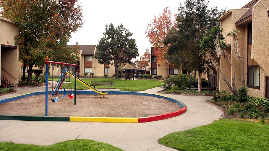 Jamboree Royals Los Angeles affordable community tot lot for residents