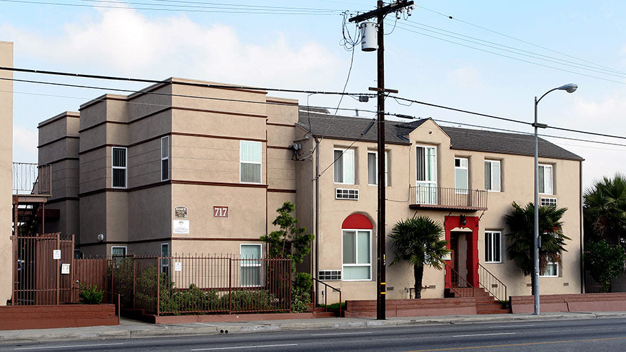 Jamboree Royals LA two story affordable family apartment homes