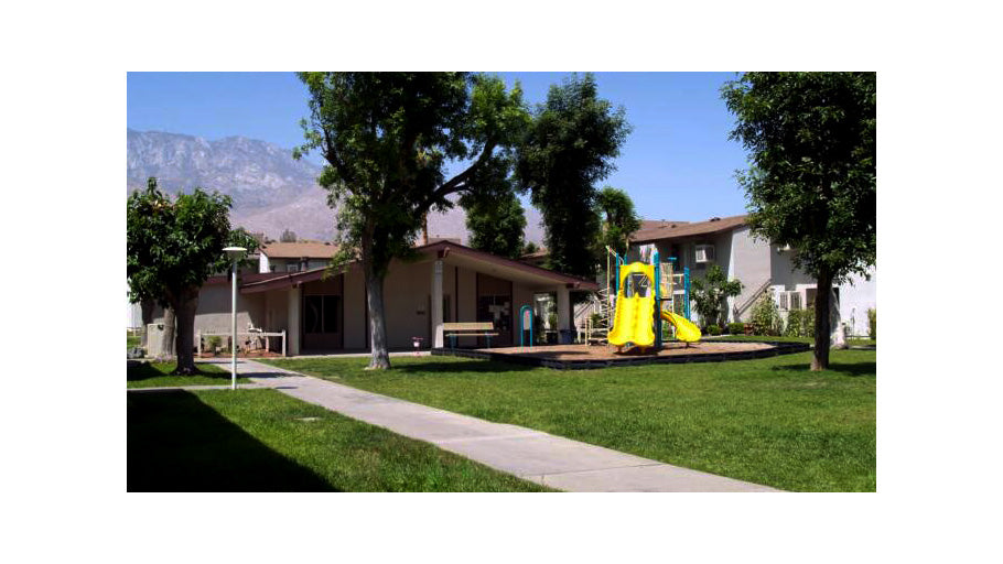 Jamboree's affordable Seminole Garden Palm Springs community tot lot
