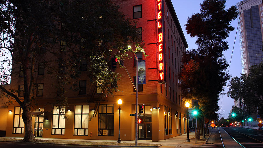 Jamboree's award-winning Sacramento community Hotel Berry