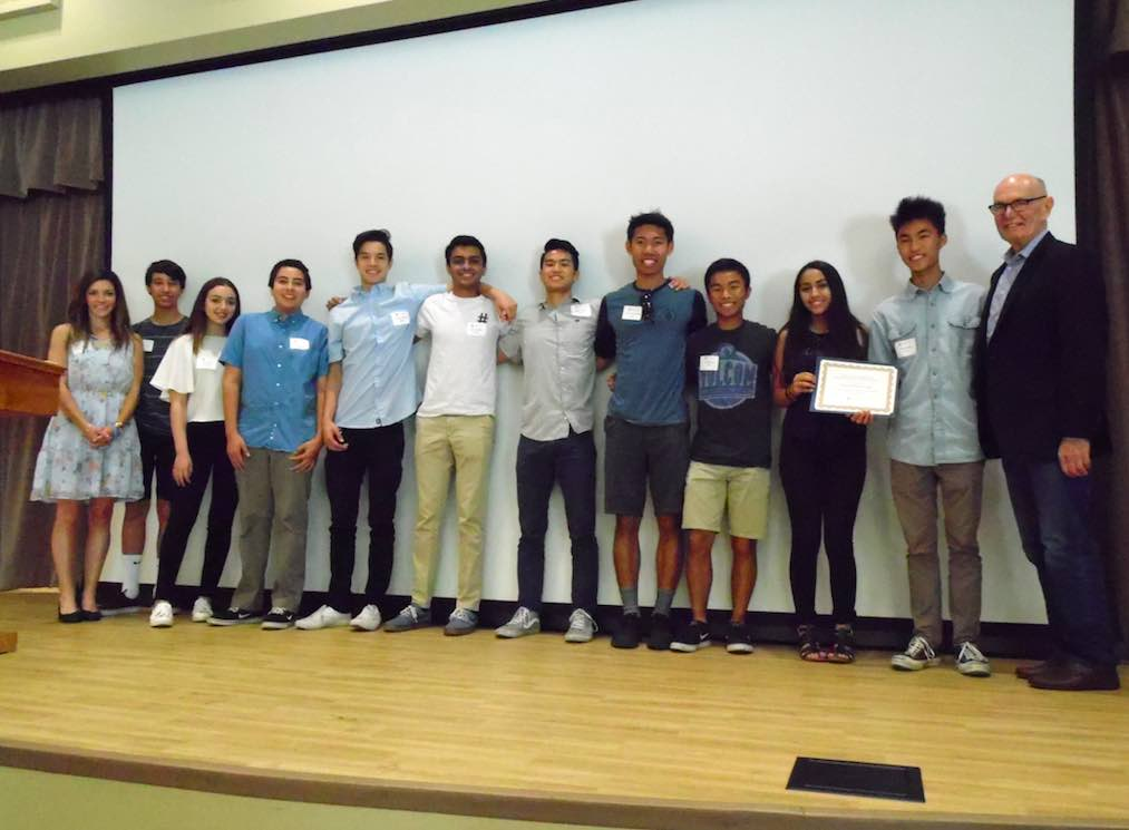 Volunteers like Northwood High School in Irvine are an essential asset giving almost 7,500 service hours or almost $175,000 in labor costs annually.
