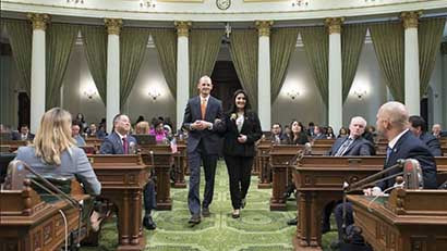 Jamboree resident named CA state Assembly woman of the year