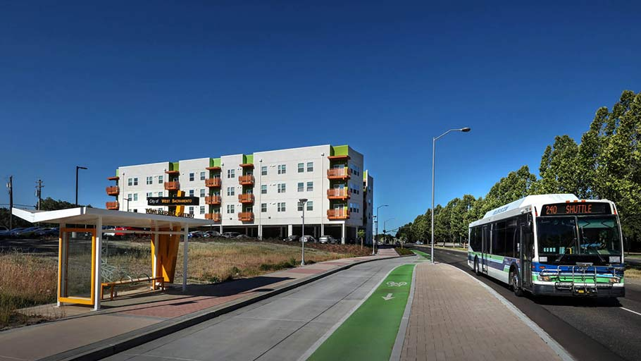 Jamboree's West Gateway Place transit-oriented affordable housing.