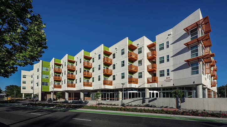 Jamboree's West Gateway Place an affordable community with with bike paths in Yolo County, CA.