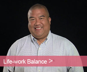 Jamboree's John Okura talks about work-life balance.
