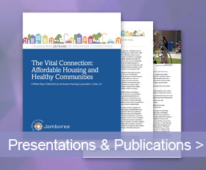 Jamboree Housing Corporation Publications and Presentations