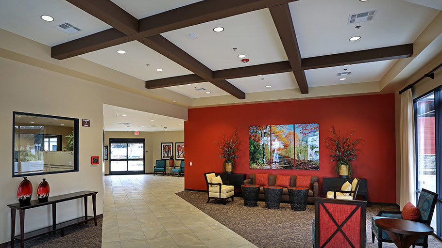 Jamboree's The Meadows, mobile home park resident lobby in Irvine, CA