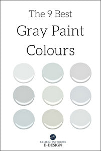 The 9 Best Benjamin Moore Paint Colours Greys
