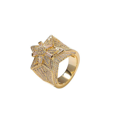 Big Star CZ Diamond Ring