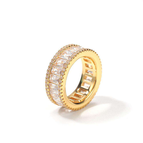 Bust-Down Premium Ring Yellow Gold / 8