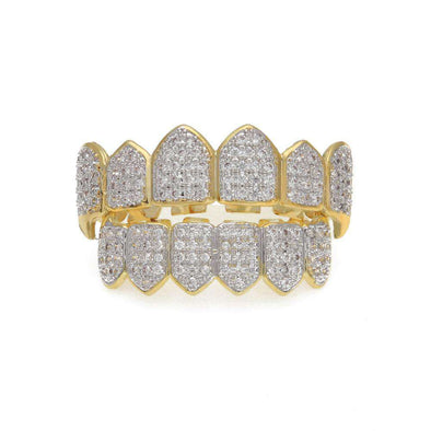 Grillz Diamonds Edition Gold