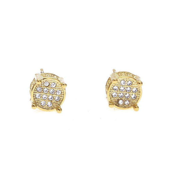 Limited Stock | Rouded Diamond Earrings