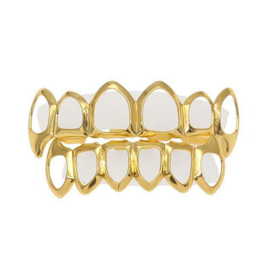 Open Face Gold Grillz