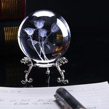 Load image into Gallery viewer, Roses Crystal Ball
