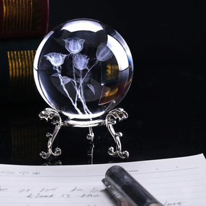 Roses Crystal Ball