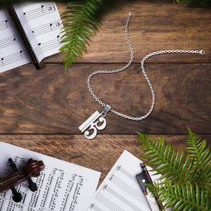 Alto Clef Necklace