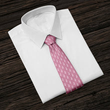 Load image into Gallery viewer, Pink Seahorses Tie