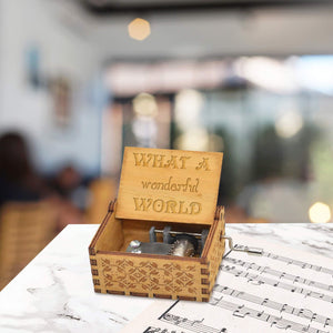 What A Wonderful World Music Box