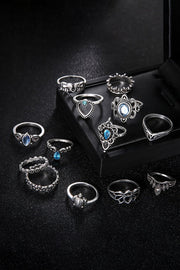 13 Piece Set Joint Ring Jewelry-Accessories, Jewelry-Azura Exchange