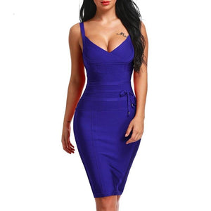 Baddest Bandage Dress-NCFashions