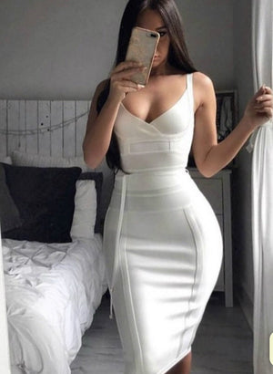date night Bandage Dress-NCFashions