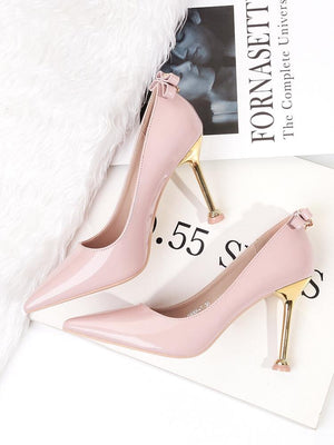 NCFashions-rose gold shoes